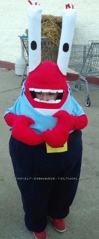 Money Lovin' Eugene Krabs Halloween Costume