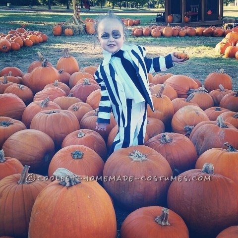 Most Adorable Beetlejuice Toddler Costume Ever