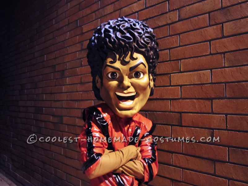 Most Outrageous Michael Jackson Mask and Thriller Costume EVER!