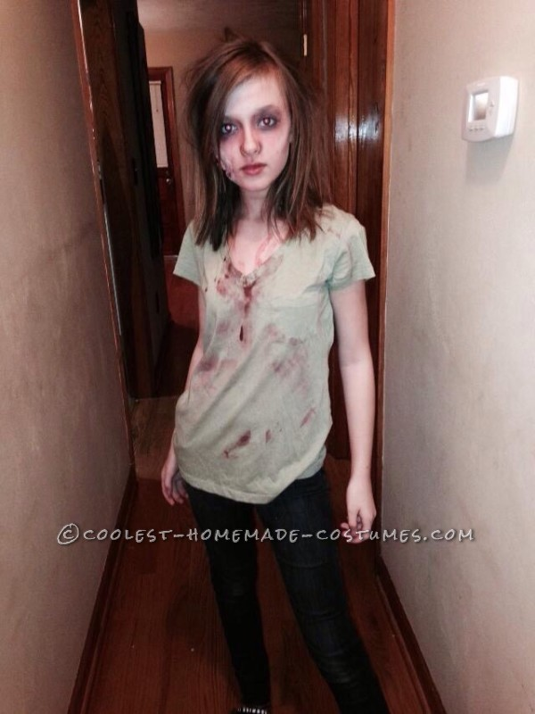 Mother and Daughter Zombie Couple Costume - 1
