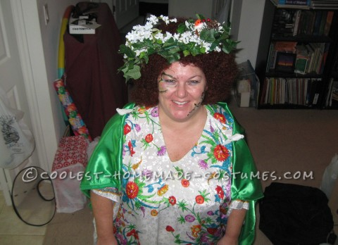 Cool Homemade Costume Idea: Mother Nature