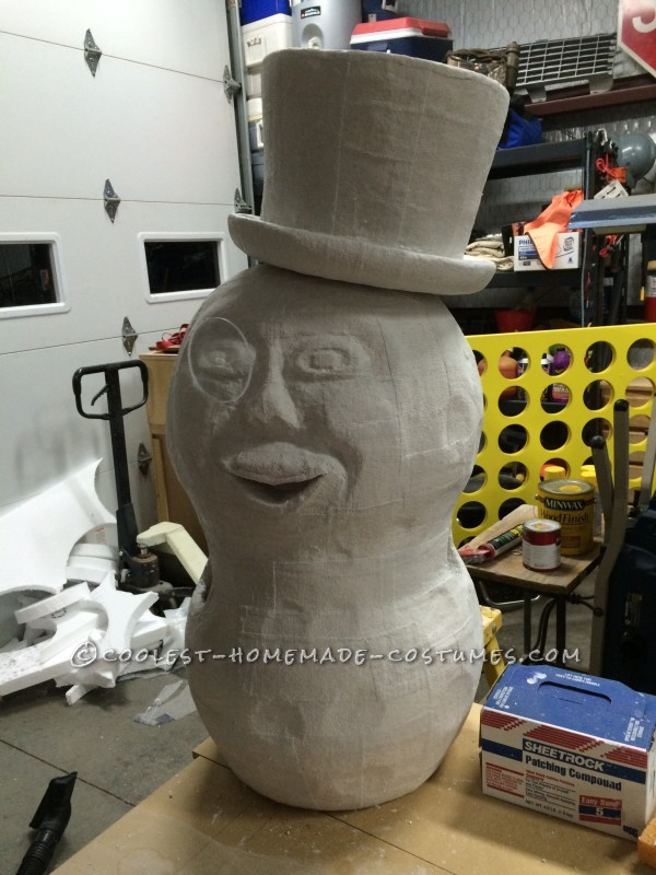 Cool Mr Peanut Halloween Costume - 7