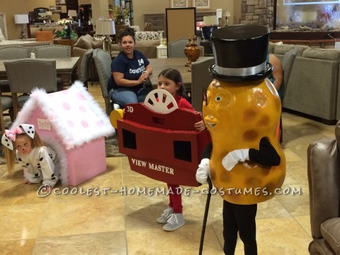 Cool Mr Peanut Halloween Costume