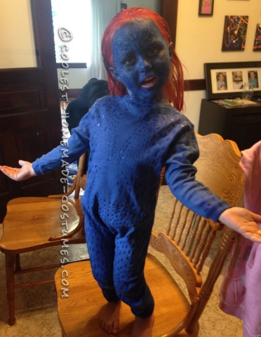 Cutest X-Men Mystique Halloween Costume