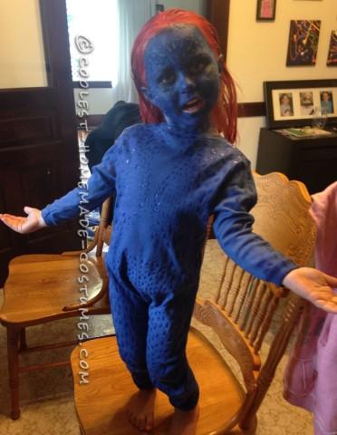 Cutest X-Men Mystique Halloween Costume