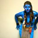DIY Female Avatar Costume - N'avi For the Night