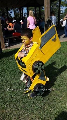 Transforming Bumblebee Camaro Costume