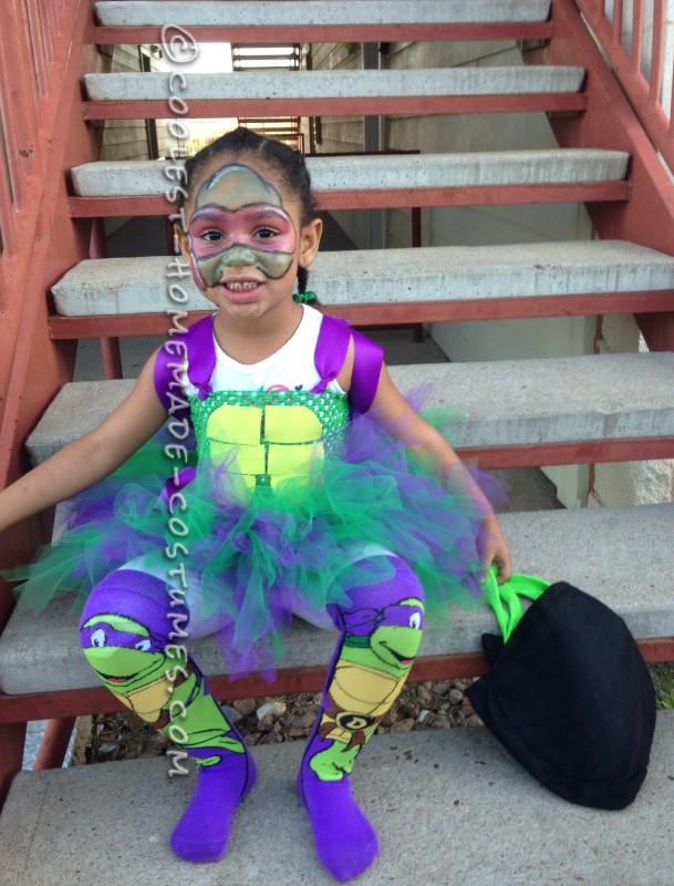 Cutest Ninja Turtle Girl Costume - 2