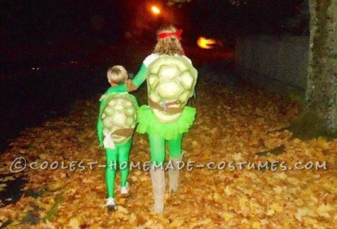 Coolest Mom And Son Ninja Turtles Costumes