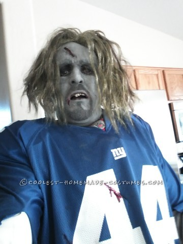 NY Giants Walking Dead Zombie Costume for work