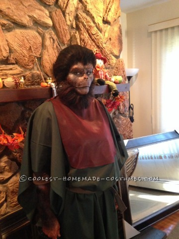 Old School Planet of the Apes Costume