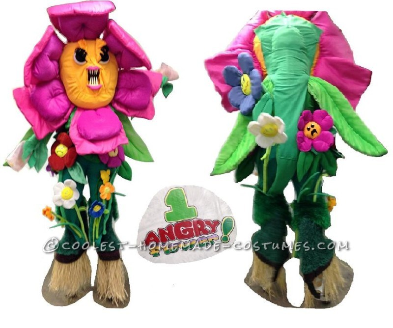 One ANGRY Flower Costume