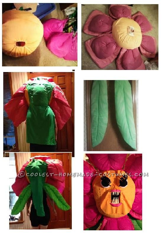 One ANGRY Flower Costume - 3