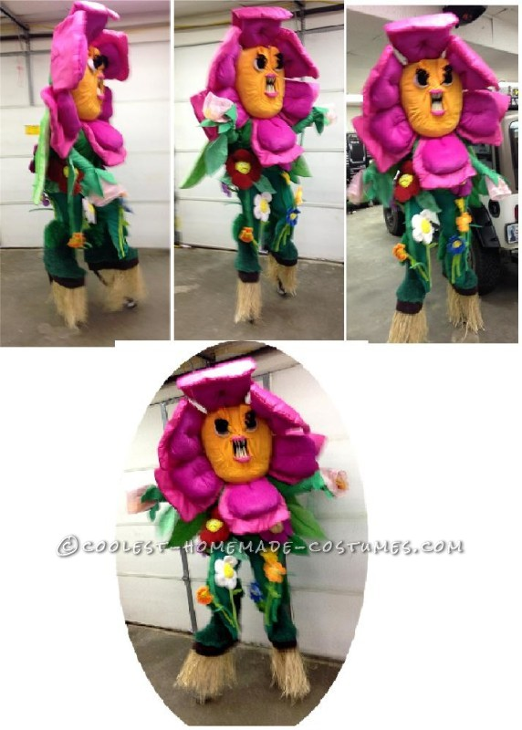 One ANGRY Flower Costume - 1