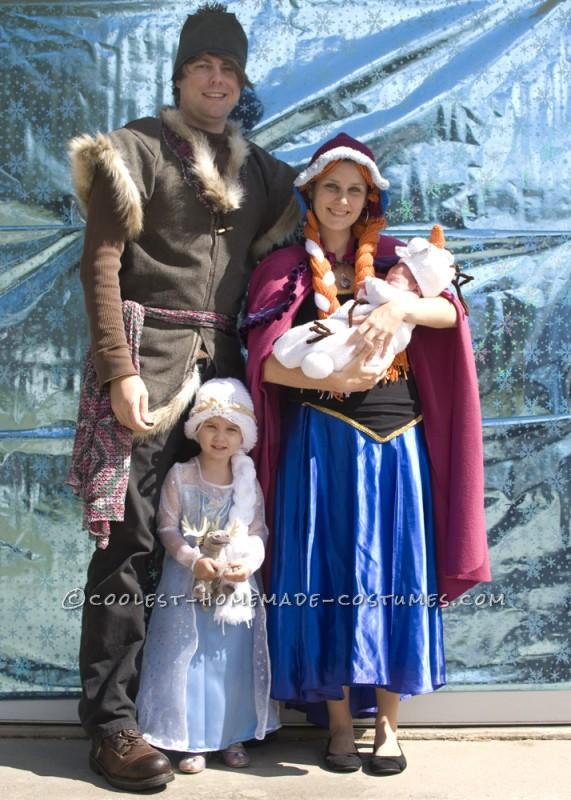 Nuevos Disfraces Frozen Para Adultos E Infantiles