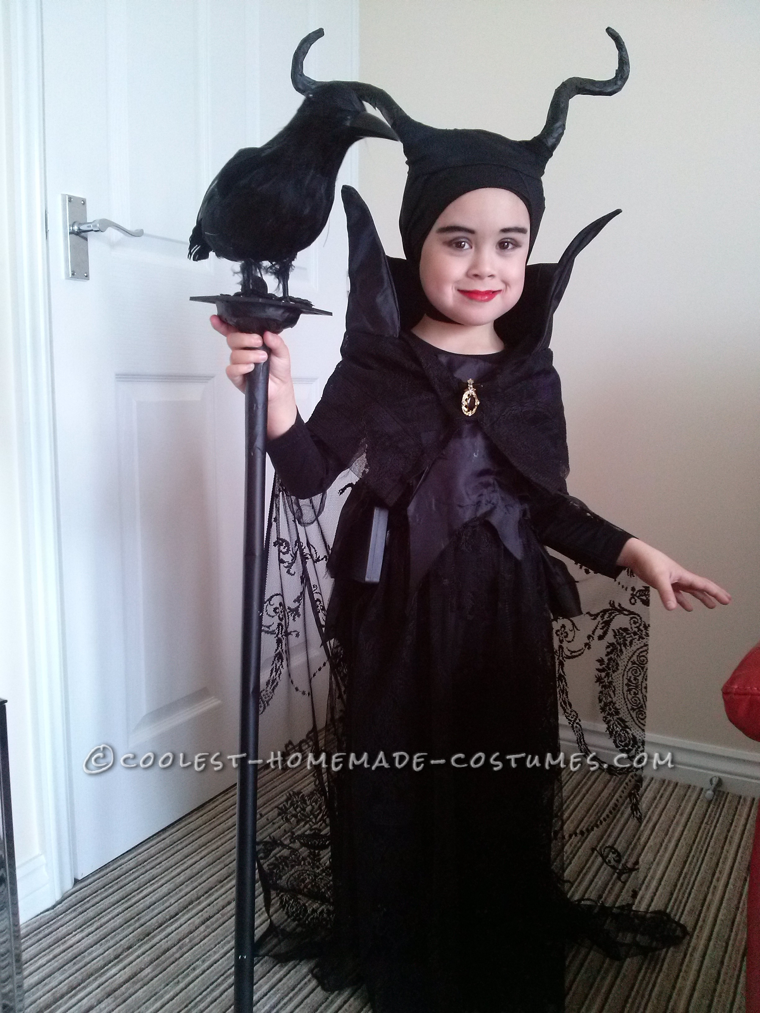 Our Own 4 Year Old Maleficent