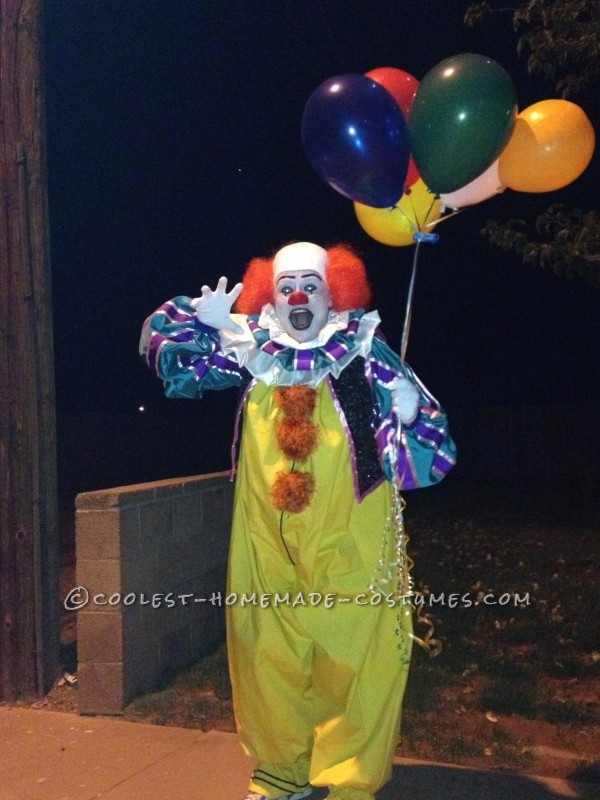 Our Homemade Pennywise Costume