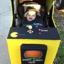 Coolest Stroller Costume Idea: Baby Pac Man Arcade