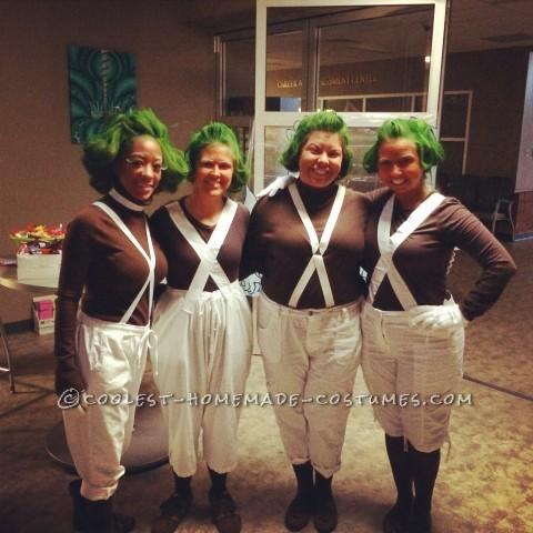 Cool Oompa Loompa Group Costume