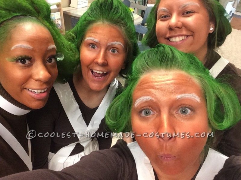 Cool Oompa Loompa Group Costume