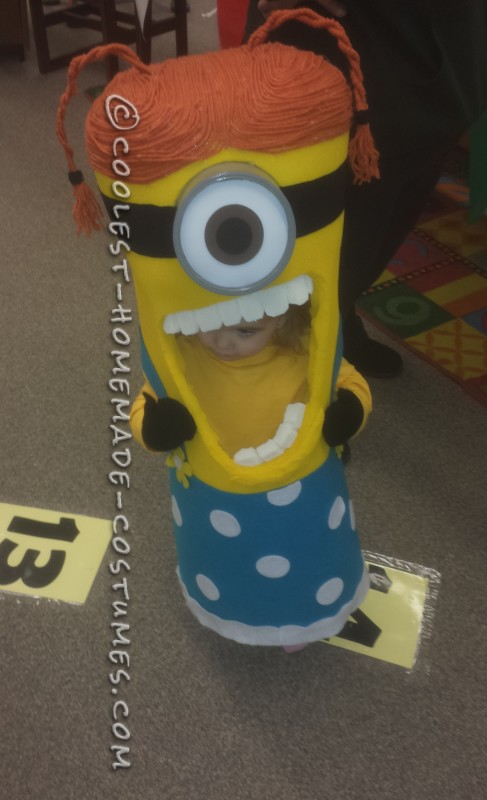 Perfect Sized Homemade Toddler Minion Costume - 1