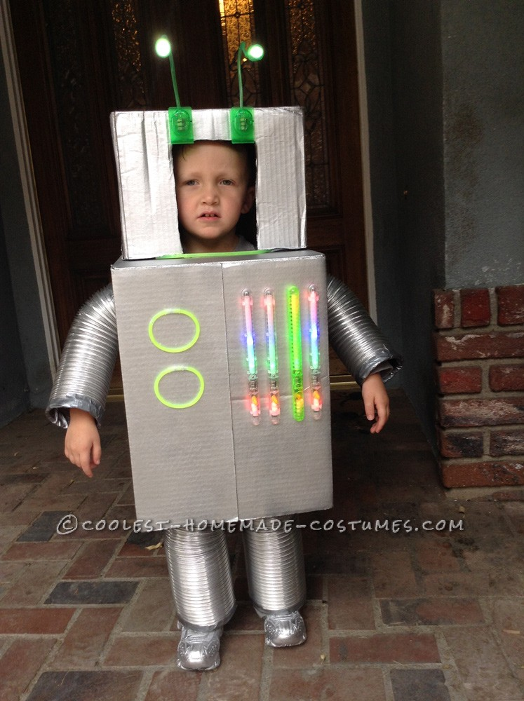 Vincent the Robot Toddler Halloween Costume