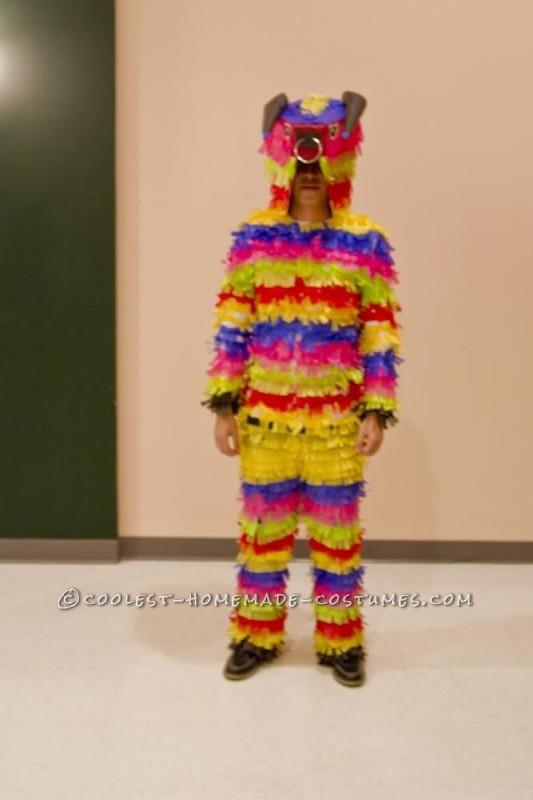 Inexpensive Raging Bull Pinata Costume - 1