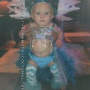 Pint-Sized Las Vegas Show Girl Costume for a Baby