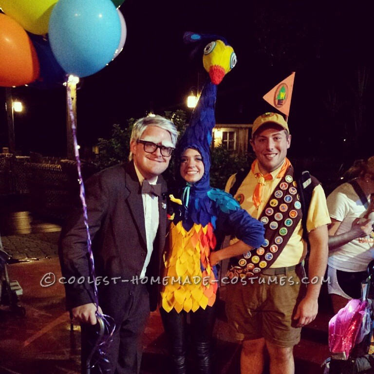 Pixar's UP Themed DIY Costumes