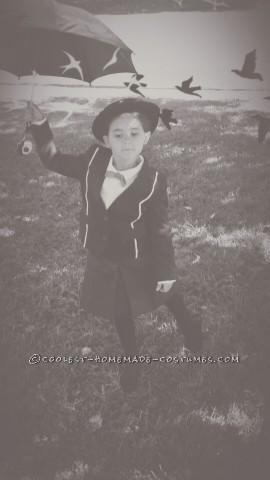Practically Perfect 5-Year-Old Mary Poppins Costume