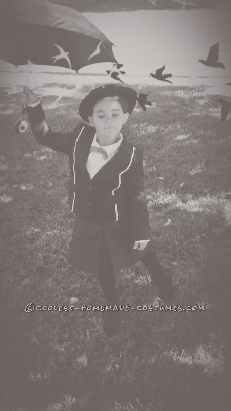 Practically Perfect 5-Year-Old Mary Poppins Costume - 1
