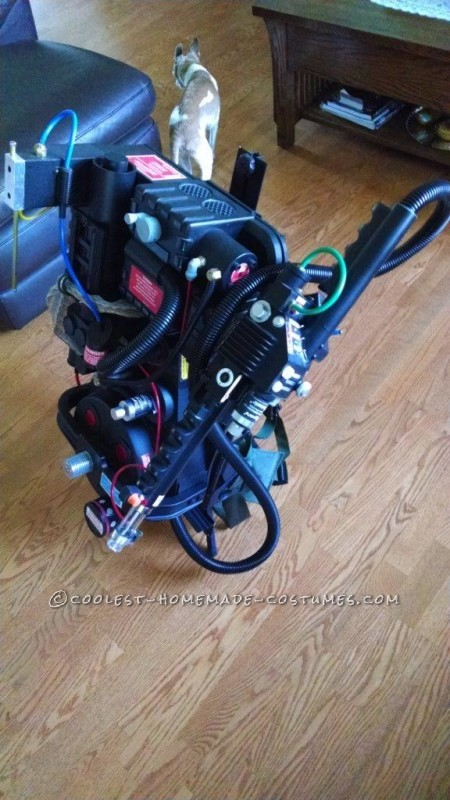 Proton Pack on stand