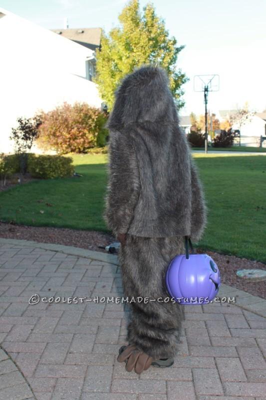 Back of Little Bigfoot