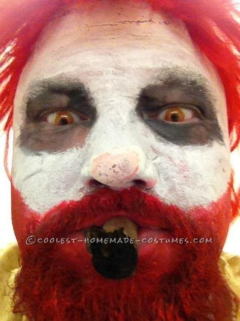 Raging Ronald McDonald Costume - 3