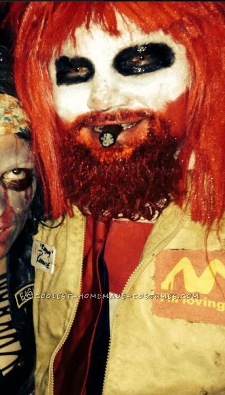 Raging Ronald McDonald Costume - 4