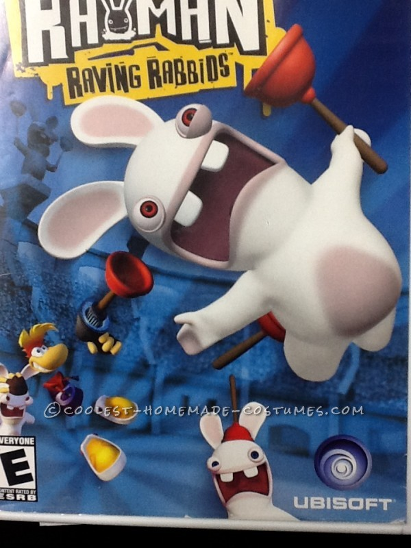 Rayman and Raving Rabbids Family Costume