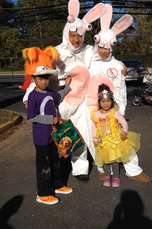 Rayman and Raving Rabbids Family Costume - 2