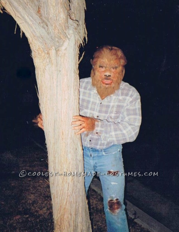 Cool Retro Wolfman Costume