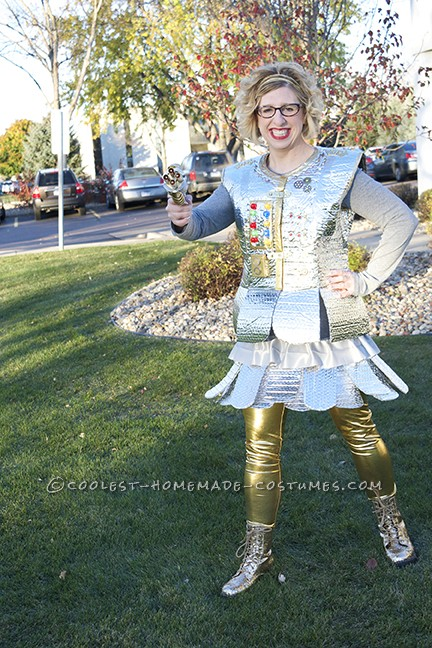 Comfortable Robot Girl Costume