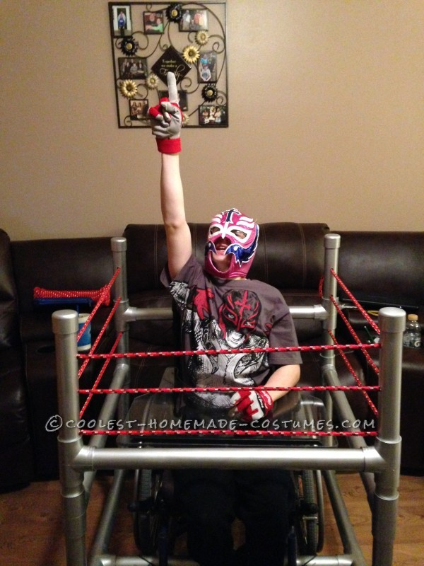 Wrestling Rink Wheelchair Costume