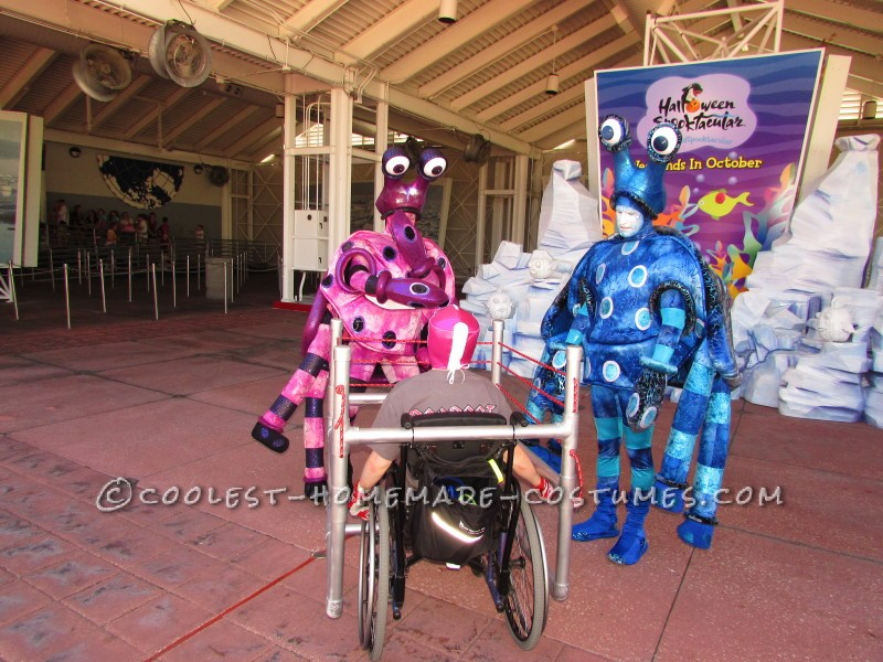 Wrestling Rink Wheelchair Costume - 7