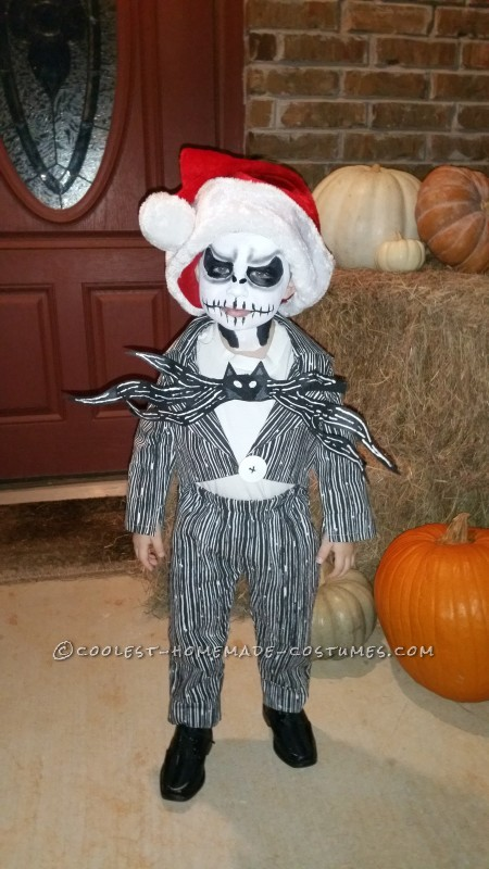 Cool Sally and Jack Skellington Child's Couple Costume - 2