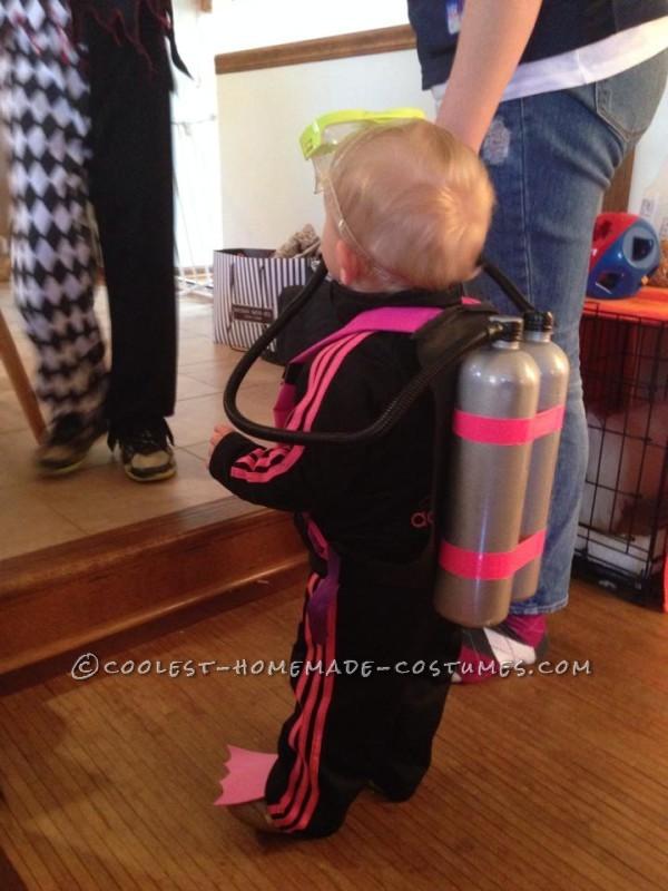 Cute Scuba Diver Baby Costume