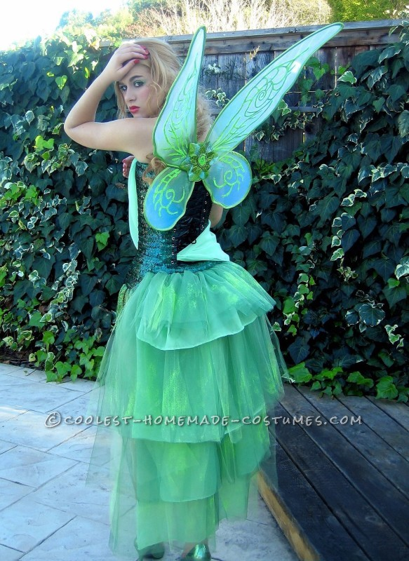 Sexy Absinthe Green Fairy from Moulin Rouge Costume