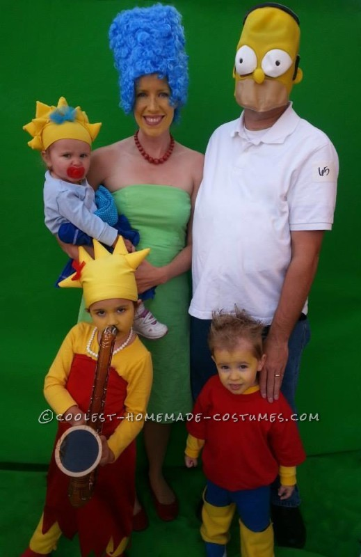 Our Simpsons Family Costumes