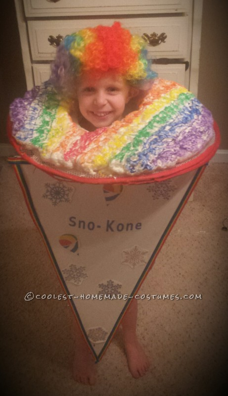Cool Snow Cone Toddler Costume