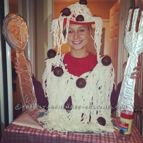 Cool DIY Adult Spaghetti Costume