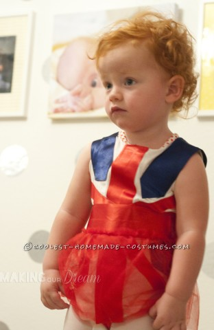 Cute Ginger Spice Toddler Costume