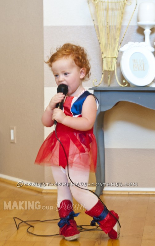 Cute Ginger Spice Toddler Costume - 2