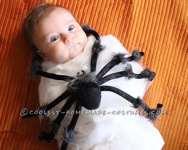Coolest Spider Attack Baby Costume - 1